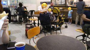 3cafe 座席