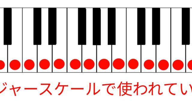 音楽理論 メジャースケール