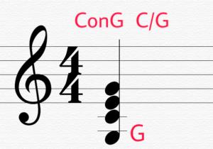 ConG C/G 分数コード