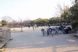 樟葉 中央公園 広場