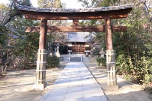 樟葉 交野天神社